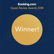 Booking.com Guest Reviews Winner